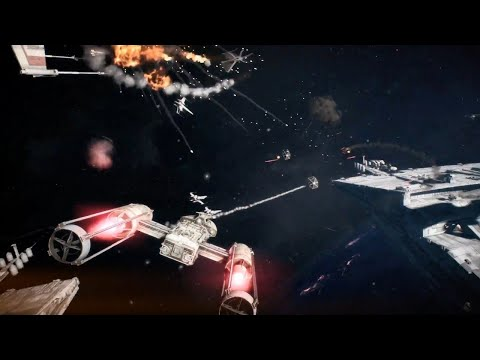 Star Wars Battlefront 2 Official Starfighter Assault Trailer