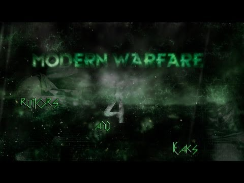 Call of duty Modern Warfare 4 Rumors and Leaks
