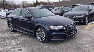2018 Audi A3 Sedan Lake forest, Highland Park, Chicago, Morton Grove, Northbrook, IL AP8411