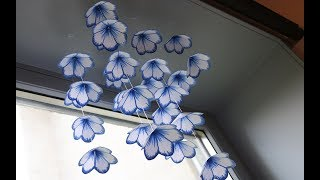 DIY Simple Home Decor - Hanging Flowers 2 - Handmade Decoration