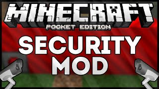 SECURITY MOD - MINECRAFT PE #MCPEMOD