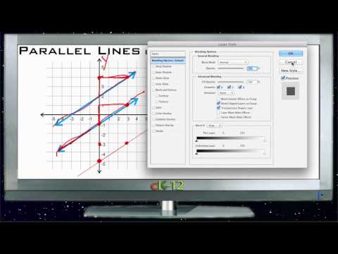 Parallel Lines in the Coordinate Plane Principles - Basic