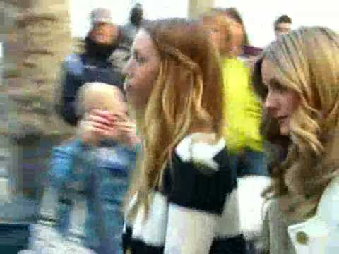 Whitney Port and Olivia Palermo from