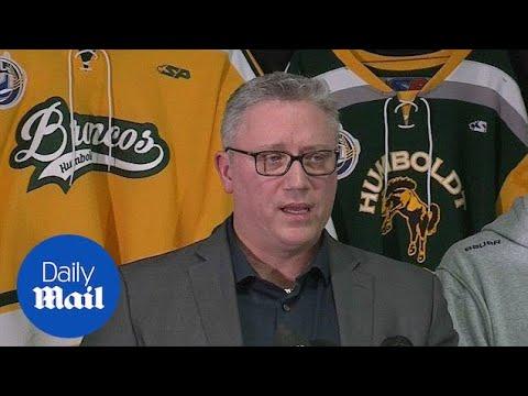 Hockey team president calls Canada bus crash a 'tragedy' - Daily Mail