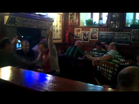 Spartak vs Celtik @Silver's Irish pub, Moscow