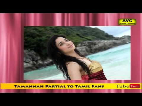 Tamannah Partial to Tamil Fans