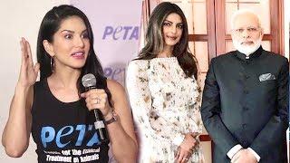 Sunny Leone's BEST Reply On Priyanka Chopra Narendra Modi Dress Controversy