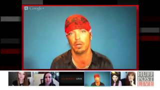 BRET MICHAELS Teary Reunion With Those He Helped Through Diabetes, Cancer