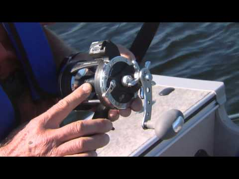 Rapala count down reels and lead core lines