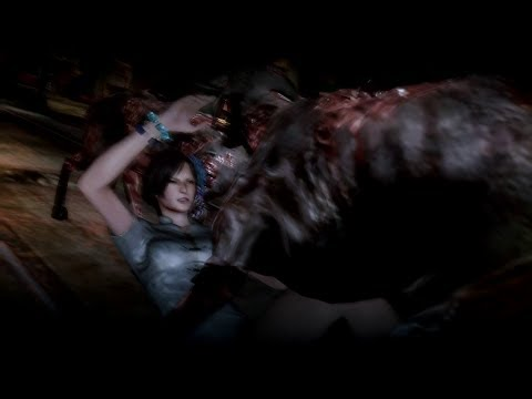 Resident Evil 6 - Ada Wong Sexy Costume Ryona