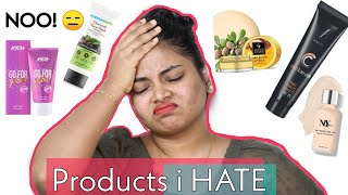 Watch this video before buying these | Products i hate | Well!  Let's talk