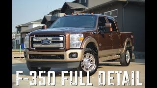 Ford F-350 Super Duty: FULL DETAIL OF THE KING OF TRUCKS
