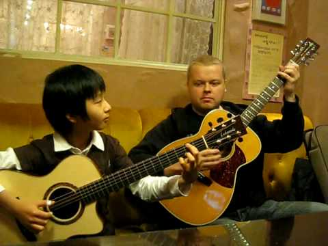 (Bon Jovi) Living On a Prayer - Sungha Jung & Tomi Paldanius Music Videos