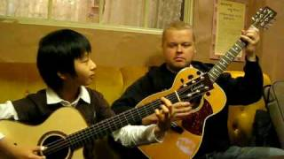 Download Lagu (Bon Jovi) Living On a Prayer - Sungha Jung & Tomi Paldanius Gratis STAFABAND