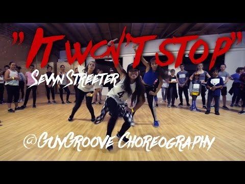 It Won't Stop | @sevyn ft. @chrisbrown | @GuyGroove choreography | film and edit @monseeworld