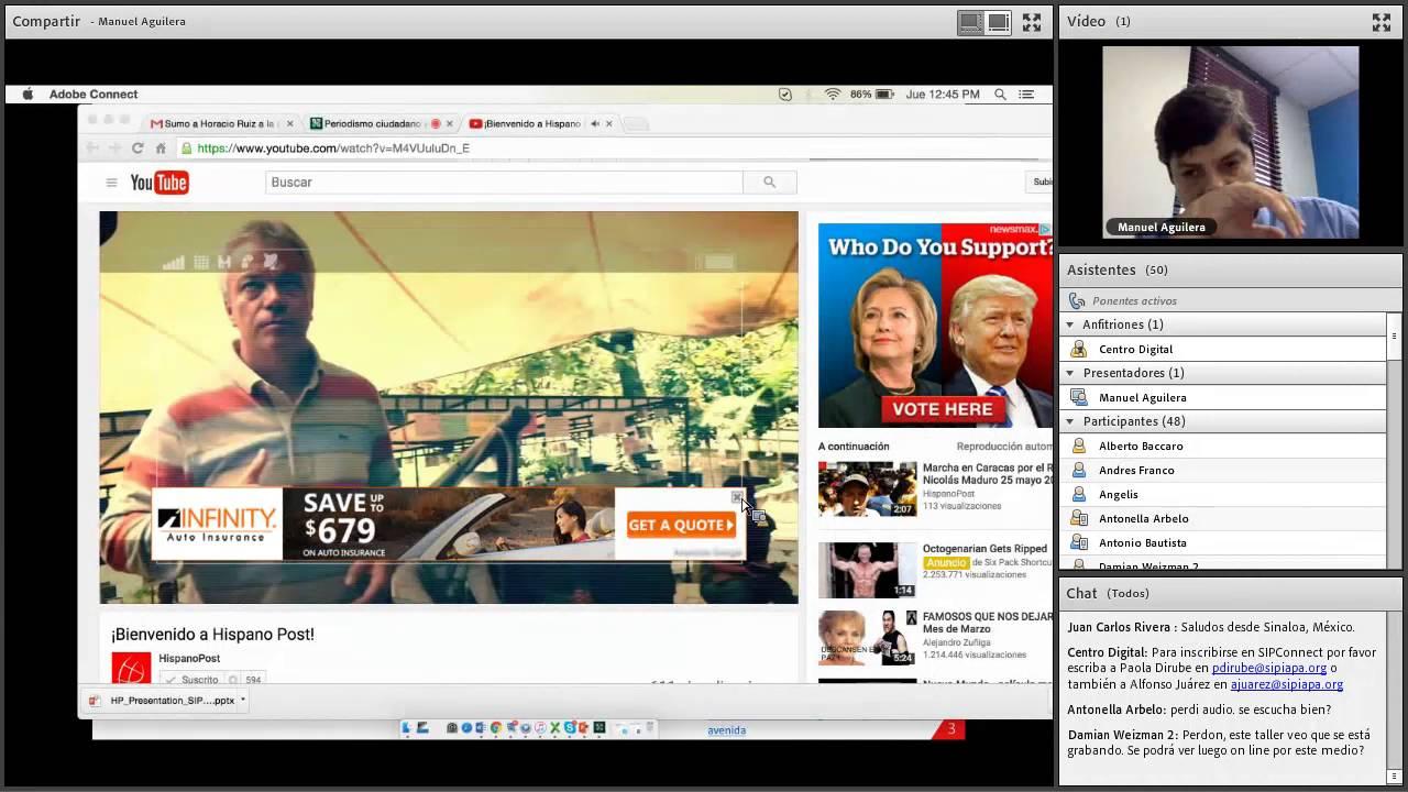 Webinar: Periodismo ciudadano y móvil