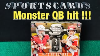 2018 Contenders Optic Football + Mail Day! INSANE QB Hit !!