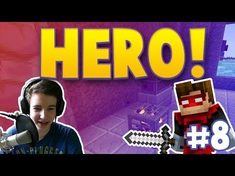HERO! - SUPER-WITHER-ZOMBIE? - DIE FLIEGENDE BURG! [+Facecam] #8