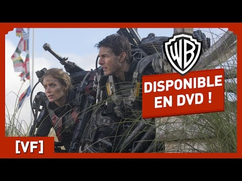 Edge Of Tomorrow - Disponible en DVD et BLU-RAY (VF) - Tom Cruise / Emily Blunt