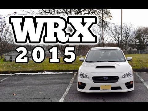Regular Car Reviews: 2015 Subaru Impreza WRX