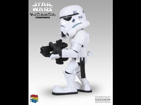 Star Wars Medicom Super Deformed VCD Stormtrooper HD Action Figure Review | www.flyguy.net