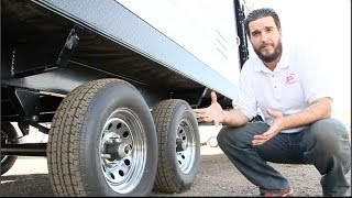 Toy Hauler 101 - Flipped Trailer Axle