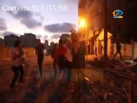 Impactante ataque de Israel contra un edificio residencial en Gaza