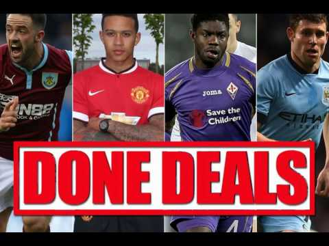 Summer transfer window: Done deals from around the Premier League and Europe