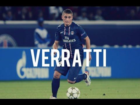 Marco Verratti 24 PSG • Skills, Passes & Dribbling - Atanomil