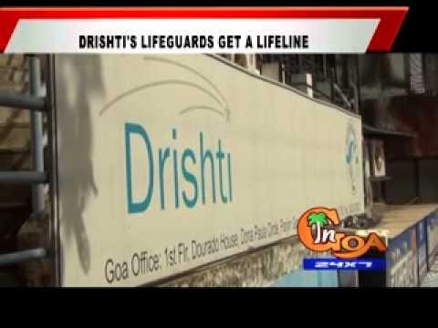 DRISHTI'S LIFEGUARDS GET A LIFELINE