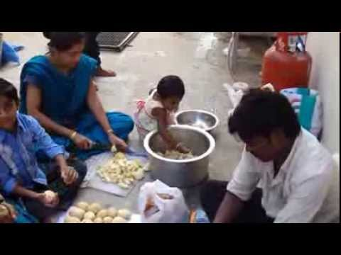 Christmas 2013 Healthy Kids Happy Kids Foundation Satish Sikha Free Biryani video