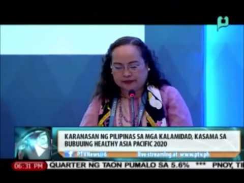 Mga karanasan ng Pinas sa 'Yolanda' at iba pang kalamidad, isasama sa 'Healthy Asia Pacific 2020'