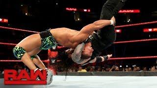 Roman Reigns vs. Jason Jordan: Raw, Sept. 11, 2017