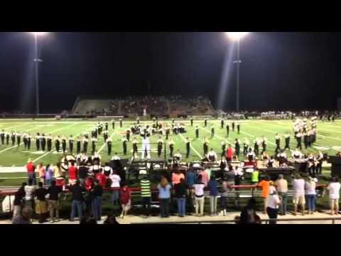 Harrison Central high school band 2014