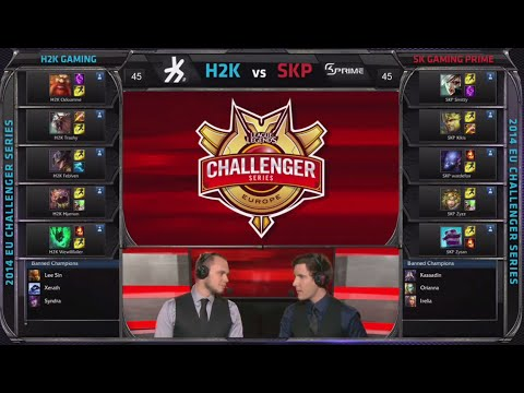 H2k Gaming Vs Sk Gaming Prime | Game 1 Semi Finals S4 Eu Cs #2 Summer 2014 | H2k Vs Skp G1 video