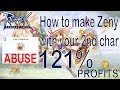 1,3 Million Zeny in 5 Minutes!! How to make Zeny [Ragnarok Mobile : Eternal Love]
