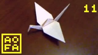 How To Make An Origami Crane ...for All (11) Easy
