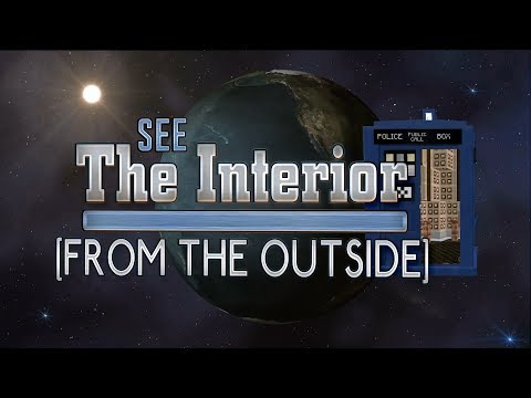 See the TARDIS Interior From the Outside DWCM Real Minecraft TARDIS