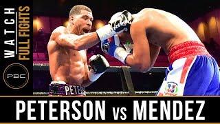 Peterson vs Mendez FULL FIGHT: March 24, 2019 - PBC on FS1