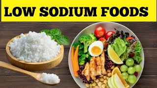 10 Low Sodium Foods | Remedy 24
