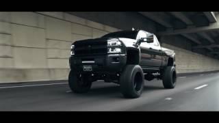 "BOSS Trucks 2015 Custom Silverado 2500 LTZ w 10"" Cognito Suspension Lift & 24"" Specialty Forged"