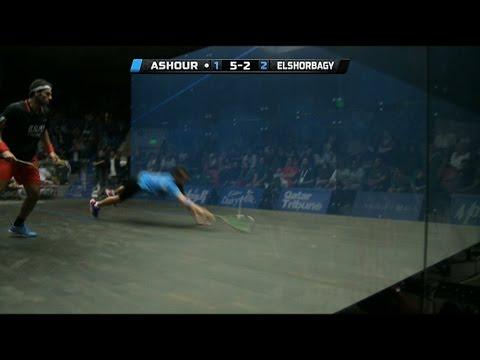 Squash : MegaRallies EP85 : Ashour v Elshorbagy: World Championship 2014