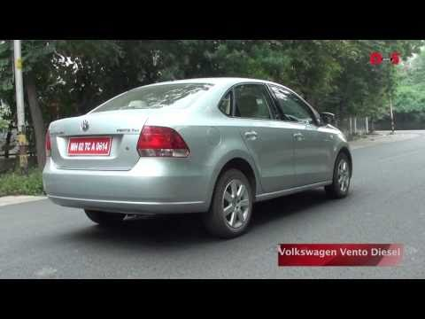 Volkswagen Vento diesel review and road test video