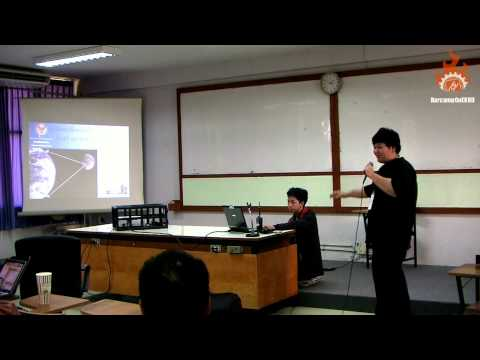 Session 1 - More Than You Think, Amateur Radio [HD1080] :: Barcamp CoE KKU beta