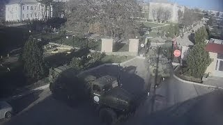 Pro-Russian Forces Storm Ukrainian Air Force Base