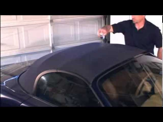 Cleaning & Protecting Convertible Tops with RaggTopp - YouTube