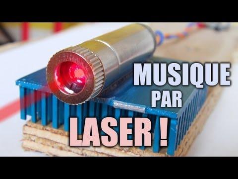 LASER & musique : Incroyables Expériences [75] Transmettre une musique avec un LASER longue distance