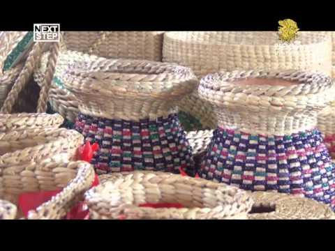 น้ำมือคนไทย จักสานผักตบ นครชัยศรี
