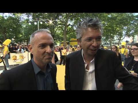 Minions: Pierre Coffin & Kyle Balda London Movie Premiere Interview