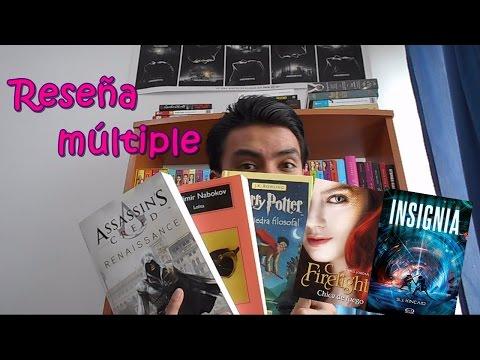 Lolita | Harry Potter | Assassin's Creed | Firelight | Insignia | Reseña | John Lime |